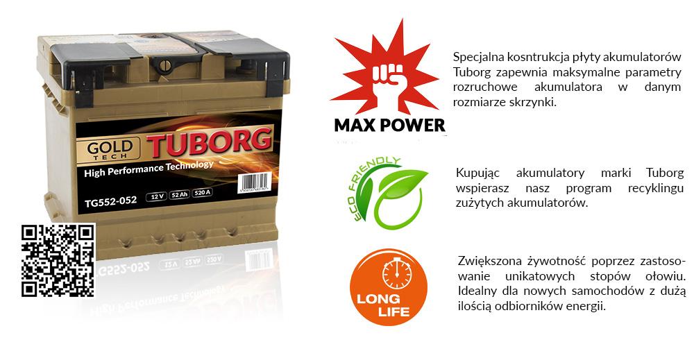 akumulator tuborg gold 105ah