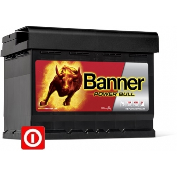 Akumulator Banner Power Bull  60Ah 540A P+  ( P60 09 )