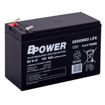 AKUMULATOR BPower BV 9-12 9Ah 12V AGM