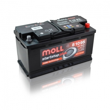 Akumulator Moll 95Ah 850A AGM Start Stop