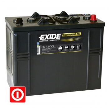 Akumulator Exide Equipment GEL 120Ah ES1300